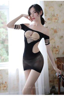 情趣内衣女式制服絲襪吊帶性感連身網衣 7407