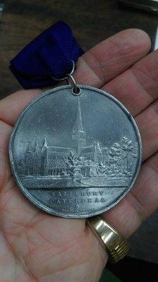大草原典藏,歐洲百年教堂銀章,索爾茲柏教堂,46克