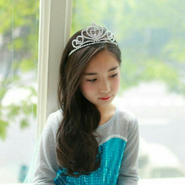 【UIshop】 兒童奢華閃亮造型大皇冠/兒童皇冠