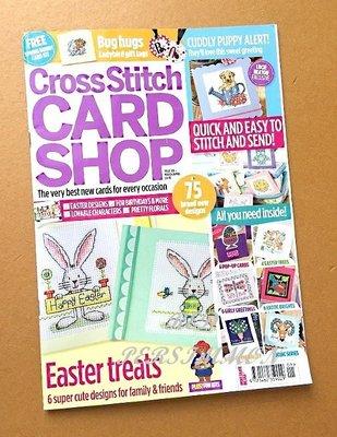紅柿子【英文彩色版•Cross Stitch CARD SHOP 十字繡卡片作品集 Issue 101】全新.