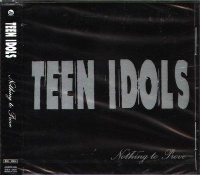 K - TEEN IDOLS - NOTHING TO PROVE - 日版 - NEW