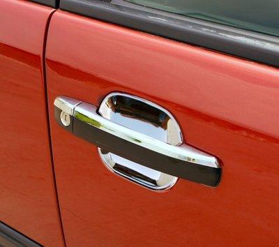 圓夢工廠 Benz 賓士 W202 C180 C200 C220 C240 C280 改裝 鍍鉻銀 車門把手防刮門碗內襯