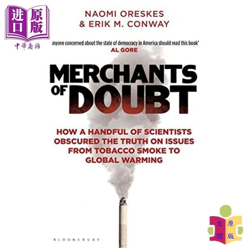 [文閲原版]Merchants of Doubt:How a Handful of Scientists Obscure