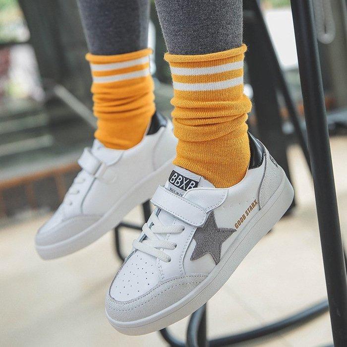 堆堆襪襪子兒童襪國單色防滑寶寶襪男童堆堆妹中小童女童襪套
