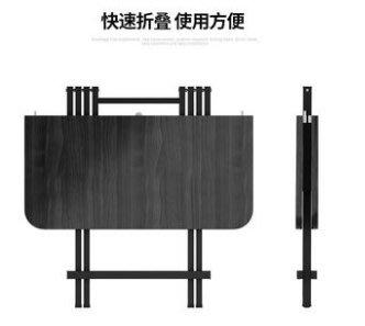 【70*70*74】可折疊桌子餐桌家用簡約出租房便攜式小戶型簡易方桌吃飯桌椅【桃源鄉】