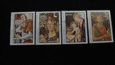 【大三元】非洲郵票-幾內亞比索郵票-銷戳票4枚
