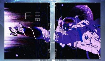 毛毛小舖--藍光BD 異星智慧 Life 全紙盒限量鐵盒版(中文字幕) 傑克葛倫霍 萊恩雷諾斯