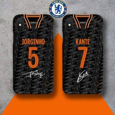 英超2019-2020球季車路士Chelsea第二作客球員款式手機殼!