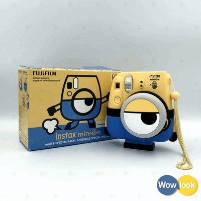 小小兵拍立得 限量版 富士 Minion Instax mini 8 Instant Film 相機【Wowlook】