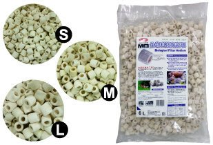 [B.Q.Q小舖]Mr.AQUA 生物科技陶瓷環 (S.M.L) 6L袋裝(免運費) (特價中.請洽詢)