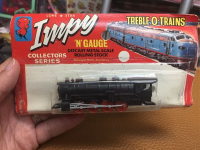 60年代 英國版 英國製 Impy TREBLE O TRAINS 'N'GAUGE 超合金 火車頭