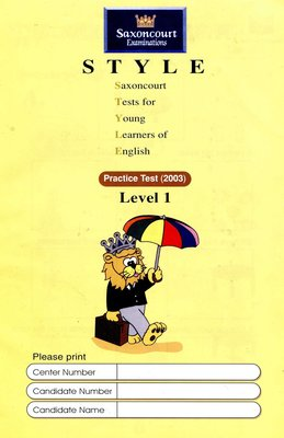 師德英文檢定 STYLE 《1》Saxoncourt Examinations Practice Test (附CD)