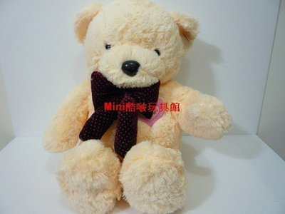Mimi酷啵玩具館~ 可愛蝴蝶結泰迪熊~品質好毛感超柔~約70公分原價950元特價599
