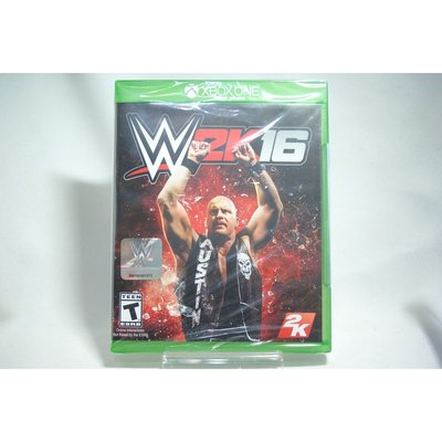 [耀西]全新 美版 XBOX ONE 激爆職業摔角 WWE 2K16 含稅附發票