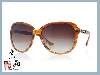 【HelenKeller】H 8223 -P52 棕沙沙色框 漸層灰色偏光鏡片 太陽眼鏡 公司貨 JPG 京品眼鏡