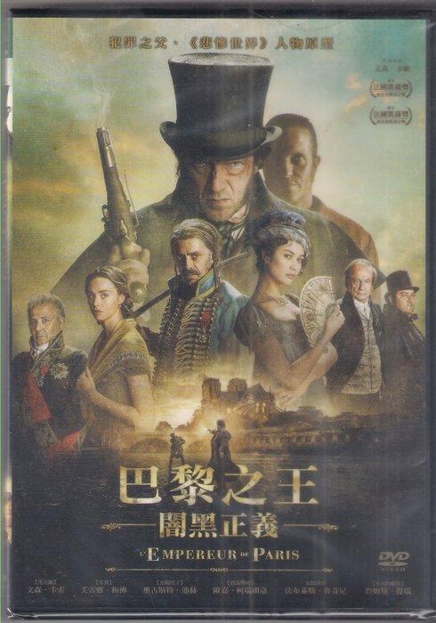 巴黎之王:闇黑正義 - 文森卡索 芙蕾雅梅佛 主演 - 已拆封市售版DVD(託售)