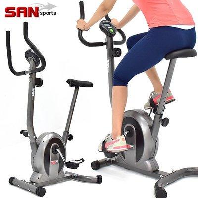 經典立式磁控健身車SAN SPORTS室內腳踏車自行車飛輪車飛輪式美腿機運動健身器材推薦C149-037【推薦+】