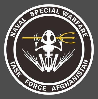 美國海軍特種作戰兵部隊 阿富汗任務 Naval Special Warfare Task Force Afghanistan 貼紙