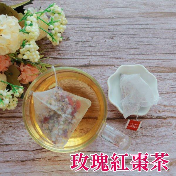 玫瑰紅棗茶 茶包 15入 養生茶 沖泡包 養顏美容 養生茶飲 隨泡隨飲 淡淡清香 【全健健康生活館】