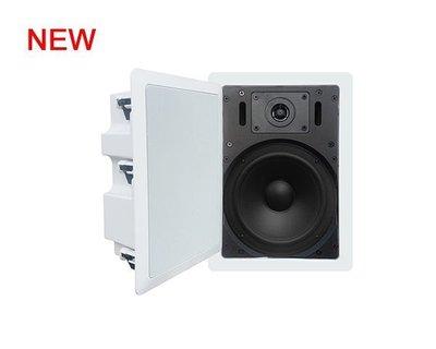 丹麥 迪夫DIFF AUDIO IW-87方型崁入式~吸頂式八吋低音兩音路喇叭(1支)~可裝浴室IW-67~650