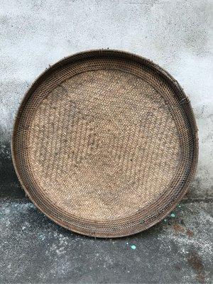 阿美族 百年籐編製老米汰(直徑:52公分)