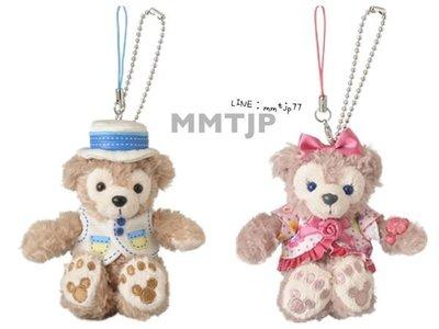 MMTJP 趣日本 日本代購 東京迪士尼 2014春季新品Duffy ShellieMay 達菲 雪莉玫 吊飾 坐款 現貨