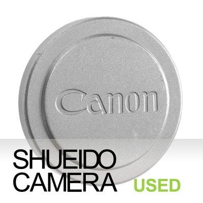 集英堂写真機【全國免運】良品 CANON 42mm 早期金屬鏡頭前蓋 銀 LTM L39 LEICA 20268