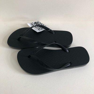《現貨》Ipanema 女生 拖鞋 巴西尺寸35,36,39/40(巴西超軟Q經典夾腳人字拖鞋-經典黑)