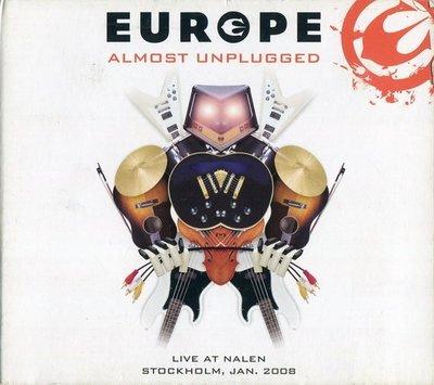 《絕版專賣》Europe 歐洲合唱團 / Almost Unplugged 原音重現 演唱會全紀錄 CD+DVD