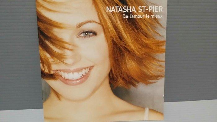 Natasha St-Pier – De L'amour Le Mieux娜塔莎·聖皮耶 CD片況如新 歌詞如新 西洋