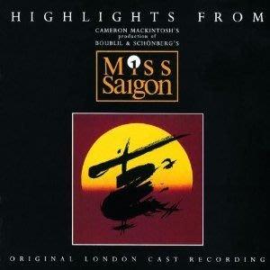 美版全新CD~音樂劇 西貢小姐 倫敦原始卡司精選版Miss Saigon Original London Cast Highlights~LEA SALONGA