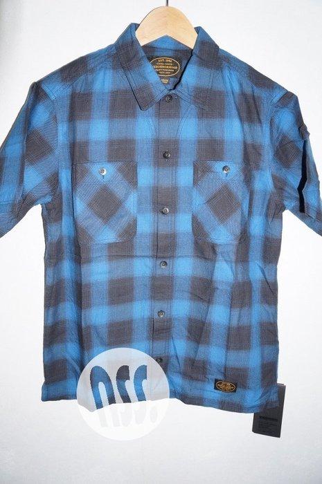特價「NSS』NEIGHBORHOOD 16 B&C C SHIRT SS 短袖 格紋襯衫 M 藍