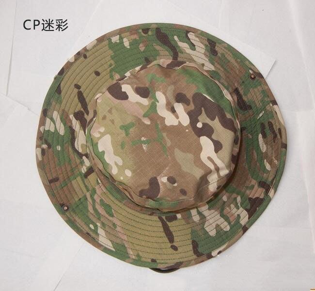 全新 奔尼帽戶外男 迷彩圓邊帽 軍帽迷彩帽露營登山外騎行裝必備品 戶外迷彩帽 k10