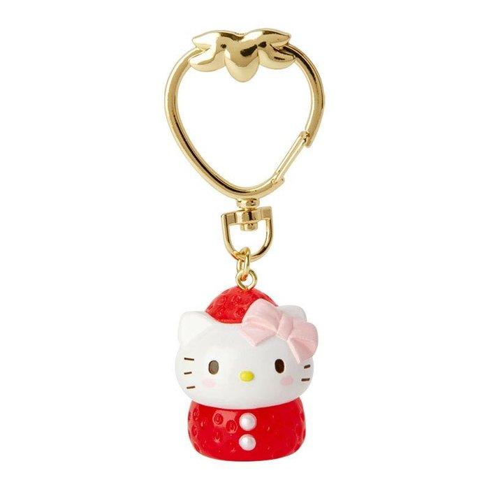 41+ 現貨 免運費 Hello kitty 立體公仔 造型草莓 鑰匙圈