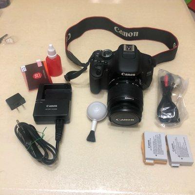 Flowerer. Sha ( 二手商品)600d (含相機 鏡頭 原廠電池 充電器  背帶 已過保 Canon 單眼