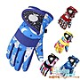 冬天防風兒童手套保暖加絨學生手套滑雪手套...