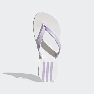 ADIDAS EEZAY FLIP-FLOPS 粉紅白 紫白 拖鞋 人字拖 夾腳拖 粉EG2035 紫色 EG2037