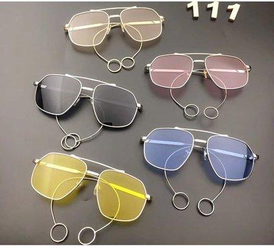 【AMAS】-兒童眼鏡男童女童個性墨鏡韓國防紫外線太陽鏡潮街拍走秀攝影眼鏡