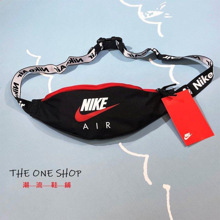 NIKE 腰包 側背包 斜背包 隨身包 肩背包 胸包 包包 黑色 紅色 黑紅 40*9*14cm CW9263-011