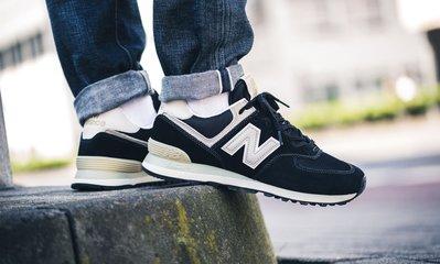 ISNEAKERS New Balance Lifestyle nb547 ML574  復古鞋 慢跑鞋 黑金 男女鞋