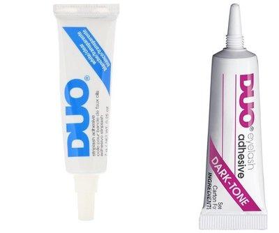 美國進口DUO 假睫毛膠水 白膠 黑膠 DUO Striplash Adhesive DUO Dark 【愛來客】防水