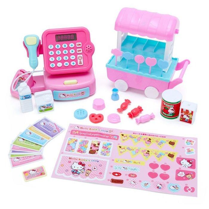 4165本通 凱蒂貓 玩具 收銀機&甜點推車 4550337825334 下標前請詢問