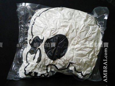 【AMBRAI.com】 AES Skull Logo 骷髏 抱枕 小鬼 黃鴻升 經典 潮流 品味 居家