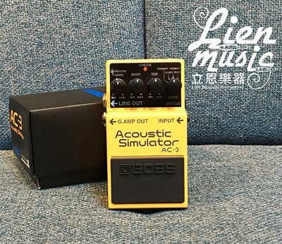 『立恩樂器 效果器專賣』免運公司貨保固 ROLAND經銷 BOSS AC-3 空心吉他模擬 效果器 AC3 模擬木吉他
