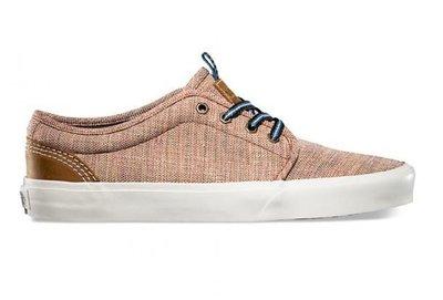 CHIEF' VANS 美版 106 Vulcanized CA 赤褐色 頂級款 質感 型男 平底鞋 US9 10