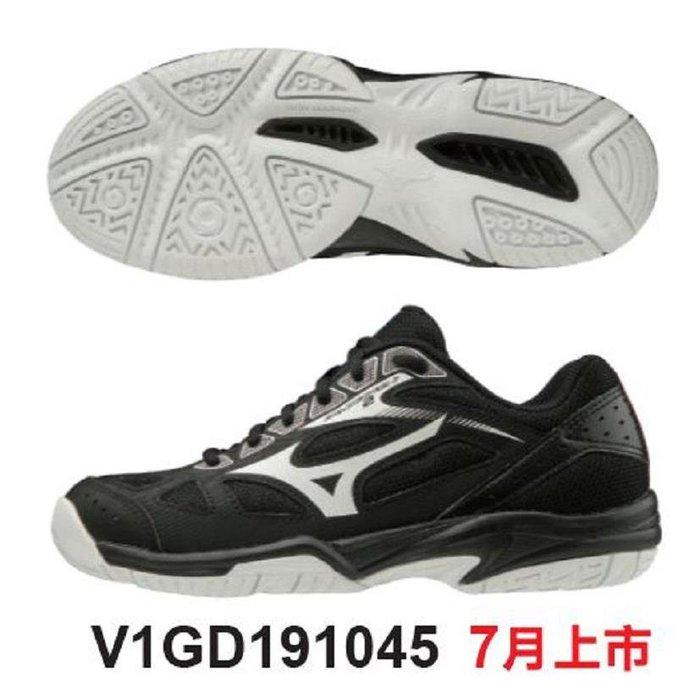 【一軍運動用品-三重店】美津濃 V1GD191045 排球鞋 (1680)  黑