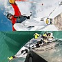 《飛翔無線3C》GoPro AACFT-001 弧面 平面 黏著固定底座〔公司貨〕3M 黏貼防水 HERO5 HERO4