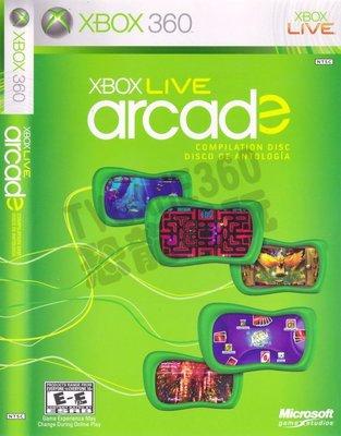 【二手遊戲】XBOX 360 集錦光碟 Live Arcade 5合1 熱門遊戲合集 中文版【台中恐龍電玩】