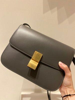 Celine classic box bag 99成新 新logo