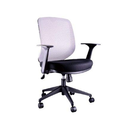 螞蟻雄兵 CAT-52 網布辦公椅(灰色款) 電腦椅 職員椅 會議椅 電競椅 旋轉扶手 透氣耐坐 人體工學 辦公桌椅